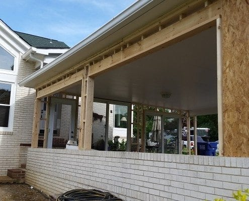 Custom Garage Door Carport Enclosure