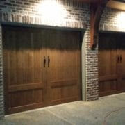 Custom Garage Door Install