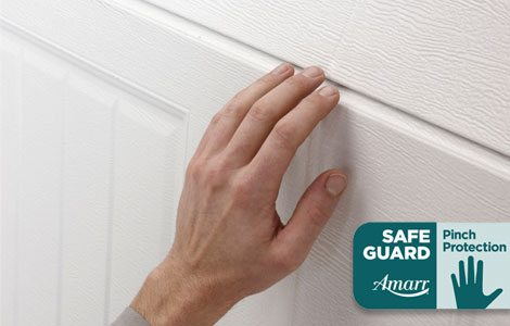 feature safe guard pinch protection