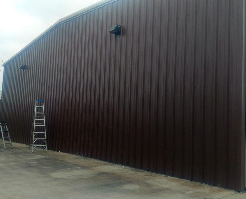 Custom Garage Door Install